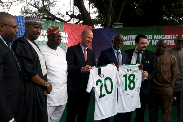 NFF, Nigerian Breweries Sign Five-Year, N2.2Bn Partnership Deal