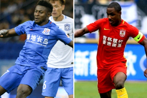 CSL: Martins Targets 17th Goal in 40th Game, Ighalo Hunts For 16th In 28 Matches As Shenhua Host Yatai