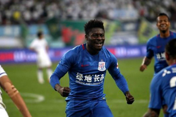 Martins: Shanghai Shenhua Victory More Important Than My Hat-trick