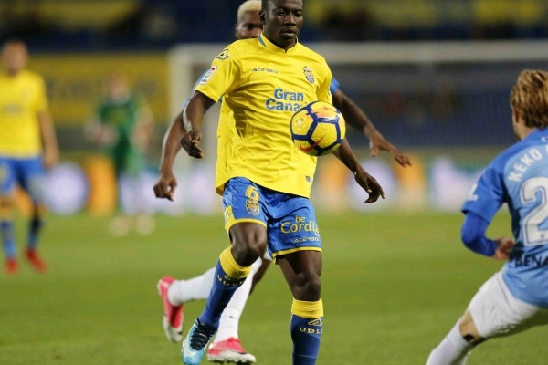 Etebo Out Of Las Palmas, Eibar La Liga Clash Due To Injury