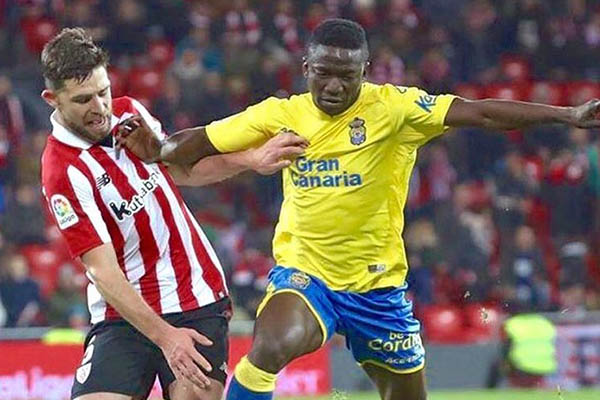 Etebo In Las Palmas Squad Vs Girona, Set To Return After Injury