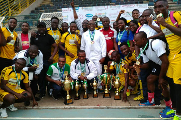 South-South Emerge Overall Winners Of 4th NMA Games