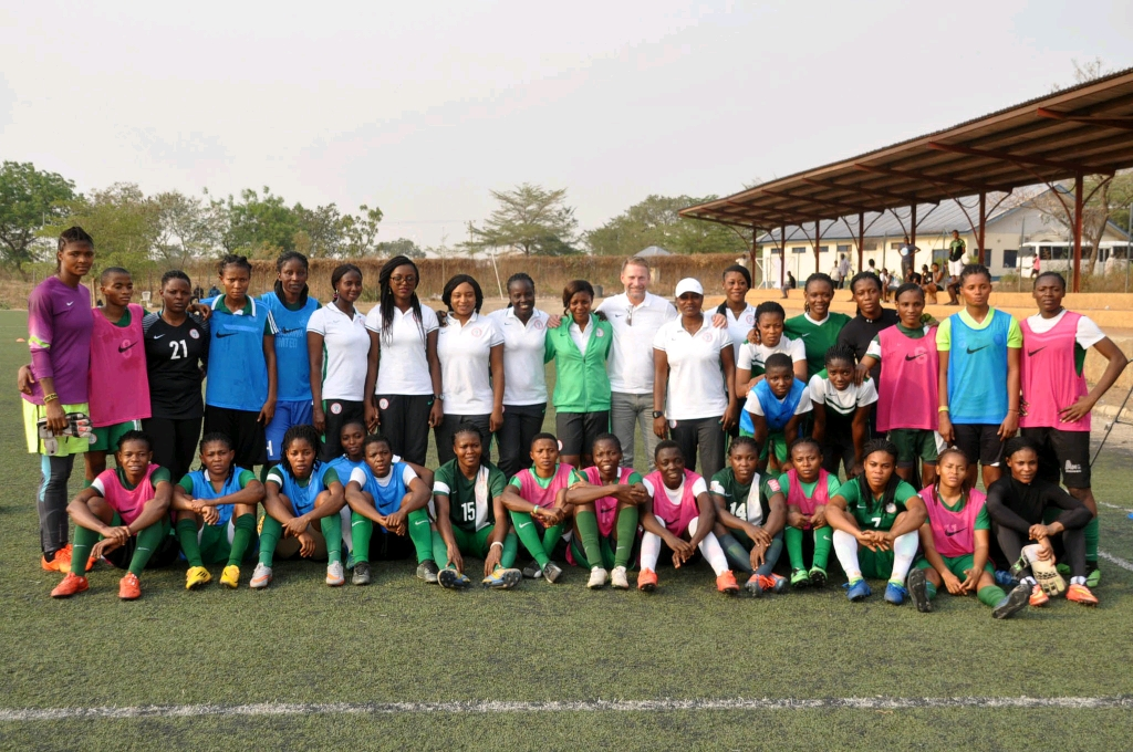 Super Falcons Arrive In Abidjan For WAFU Cup Of Nations