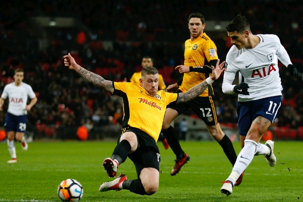 Tottenham Ease Past Newport County In FA Cup Replay