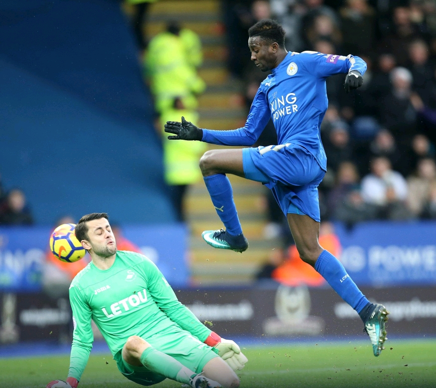 Ndidi Rated Leicester Best Player Vs Swansea, Iheanacho Earns Top Marks