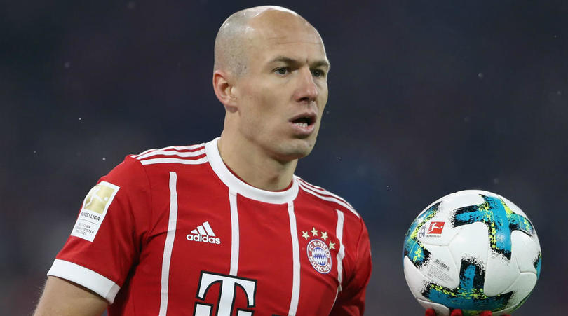 Robben Mulls China, MLS Switch As Bayern Exit Draws Near