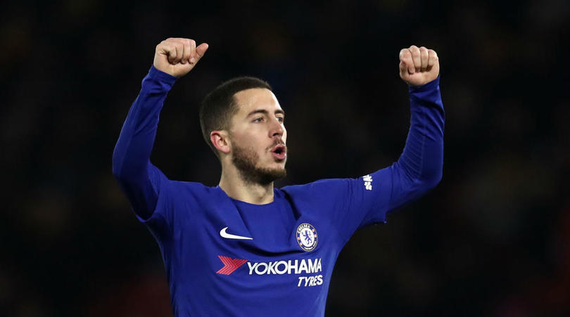 Hazard Blasts: I'm Happy At Chelsea, Stop Linking Me With Real Madrid And PSG