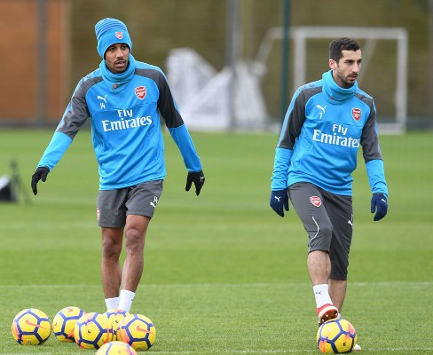 Mkhitaryan, Aubameyang Vow To Fight For Wenger As Arsenal Host Man City
