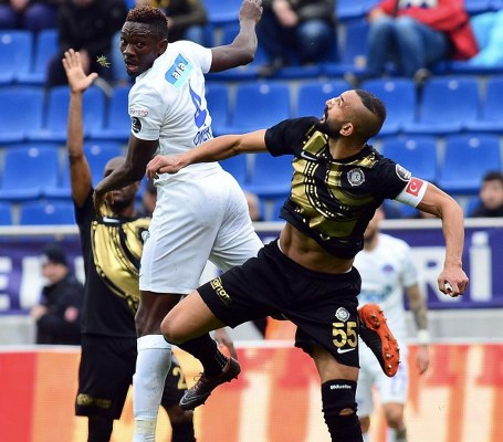 "Omeruo Blames Hard Luck For Kasimpasa's ""Manageable"" Home Draw With Osmanlispor"