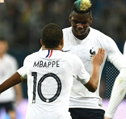 Pogba, Mbappe Fire France Past Russia In World Cup Friendly