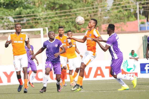 NPFL: 10-Man Akwa United Outscore Nasarawa United