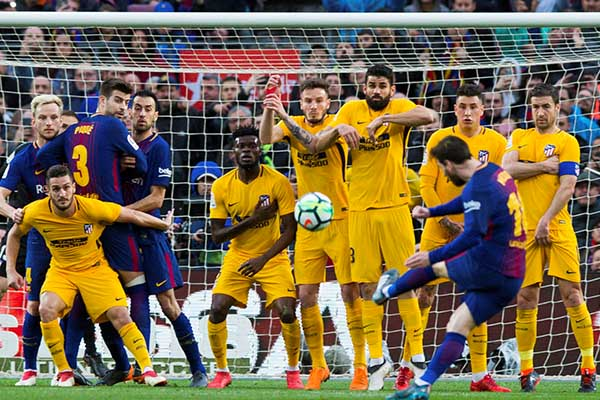 Messi Scores Special Goal As Barca Edge Closest Rivals Atletico