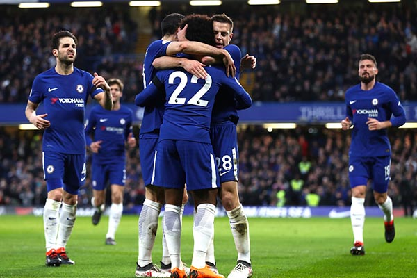 """Moses Hails Chelsea Colleagues For """"Great Win"""" Vs Crystal Palace"""
