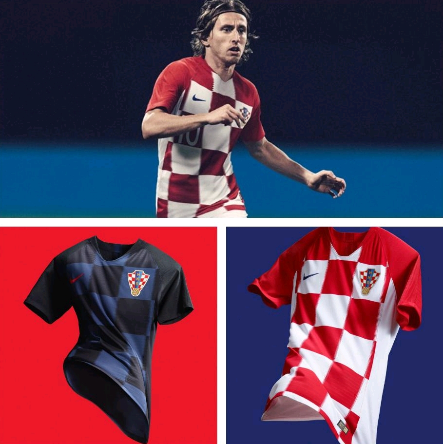 new arrival b734c 07261 Modric, Mandzukic Launch Croatia's New Nike World Cup ...