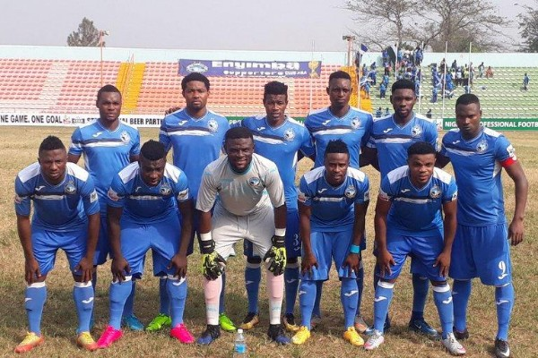 CAFCC: Enyimba Storm Cotonou For Energie FC Clash