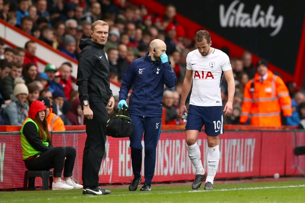 Kane Out With Ankle Injury, To Return In April