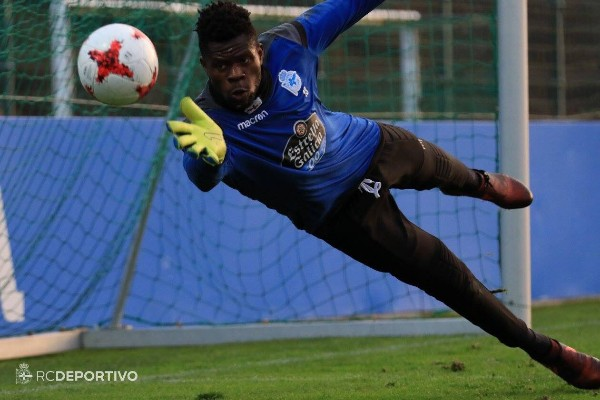 Uzoho Keeps 11th Clean Sheet In Deportivo Fabril Win