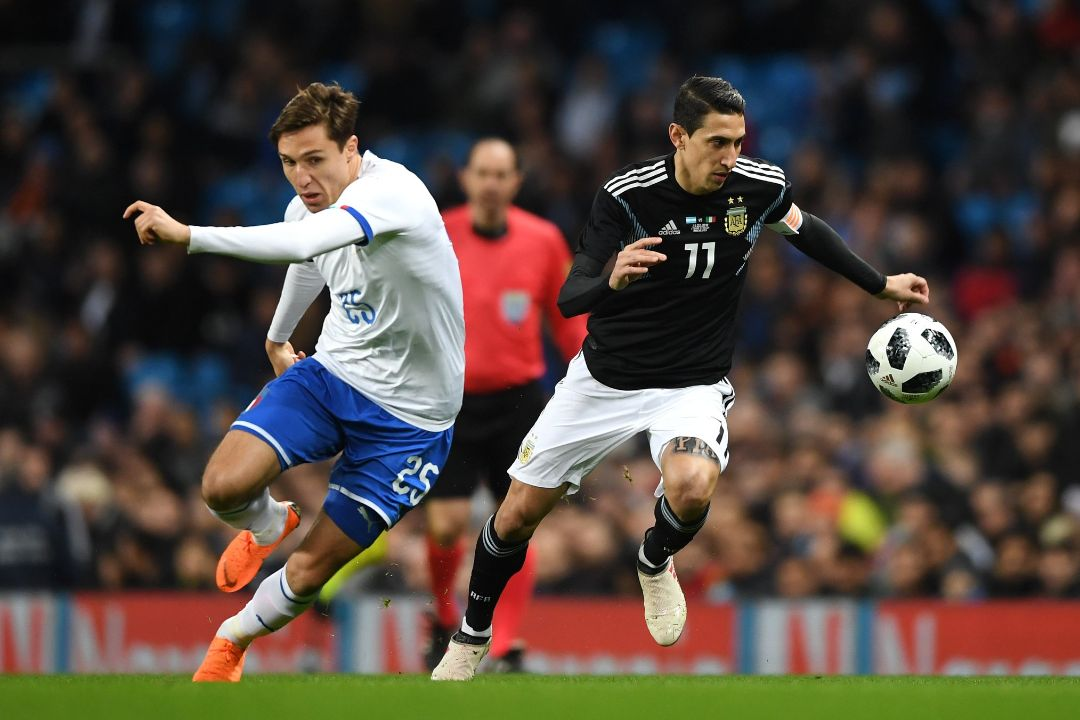 Messi-less Argentina Ease Past Italy In Friendly