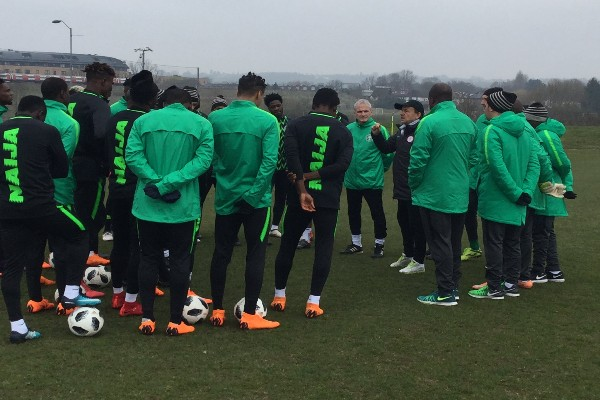 Nigeria vs Serbia: Super Eagles To Hold Final Training Session At 4pm Today