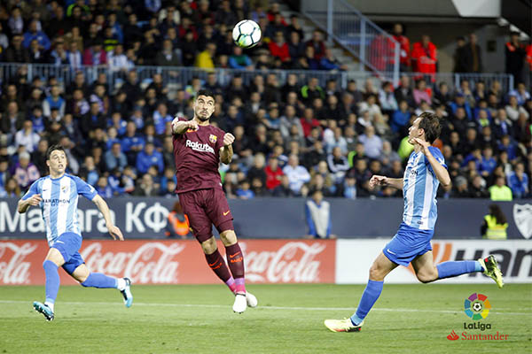 Ideye, Success In Action As Messi-less Barca Beat 10-Man Malaga
