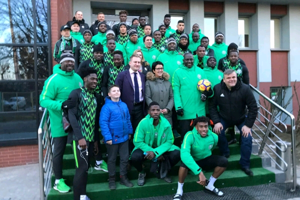 REVEALED: How Super Eagles Will Line Up Vs Poland Tonight