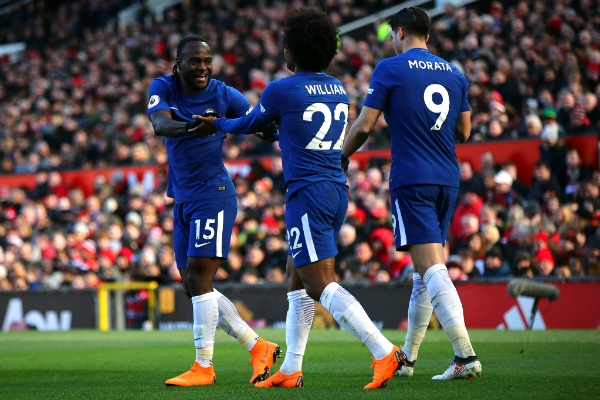 Moses: Chelsea Can Hurt Man City, We'll Finish In EPL Top Four