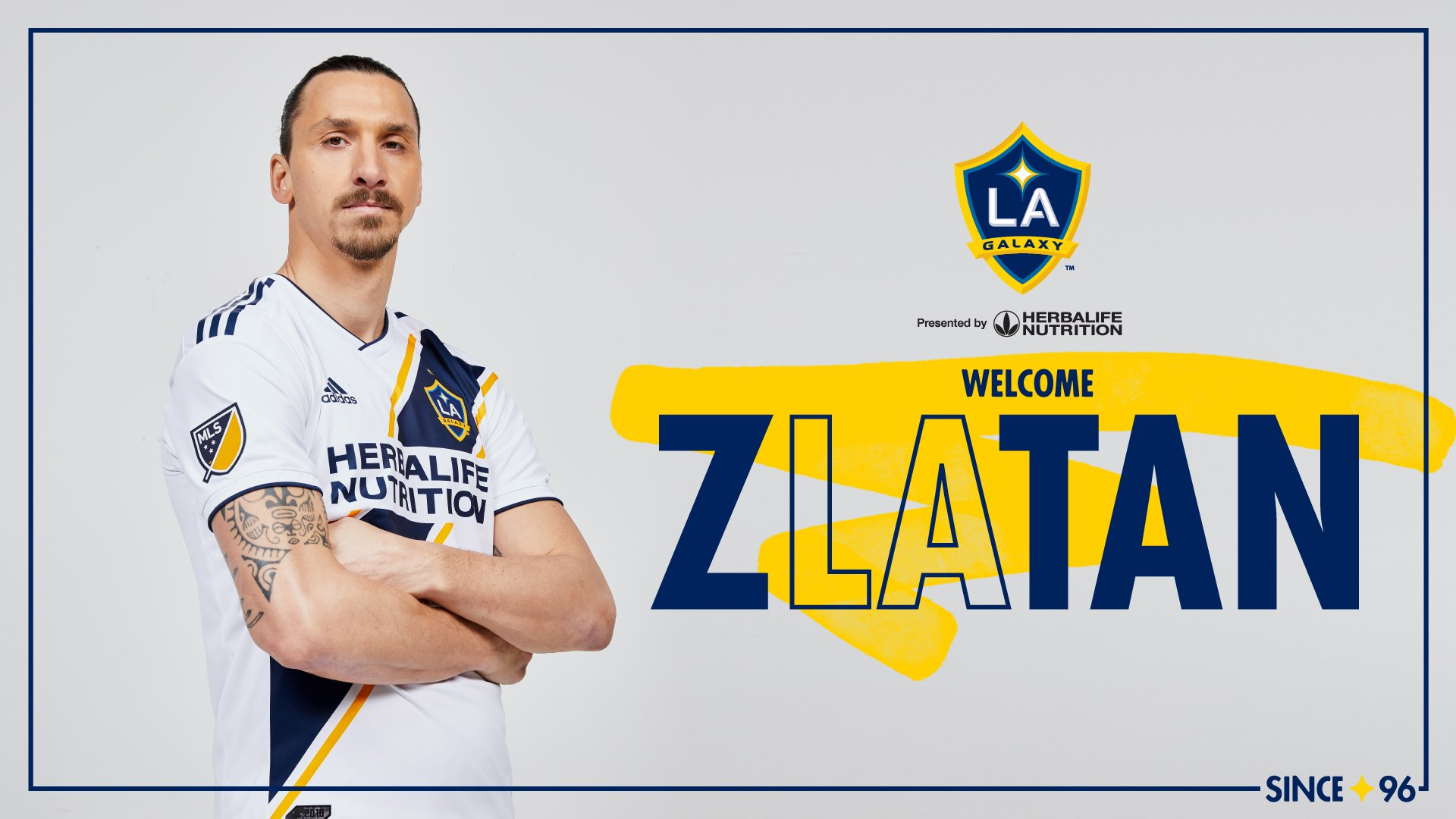 LA Galaxy Confirm Ibrahimovic Signing, Swedish Star Excited