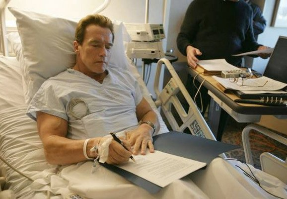 WWE Hall Of Famer, Movie Icon Schwarzenegger Undergoes Heart Surgery