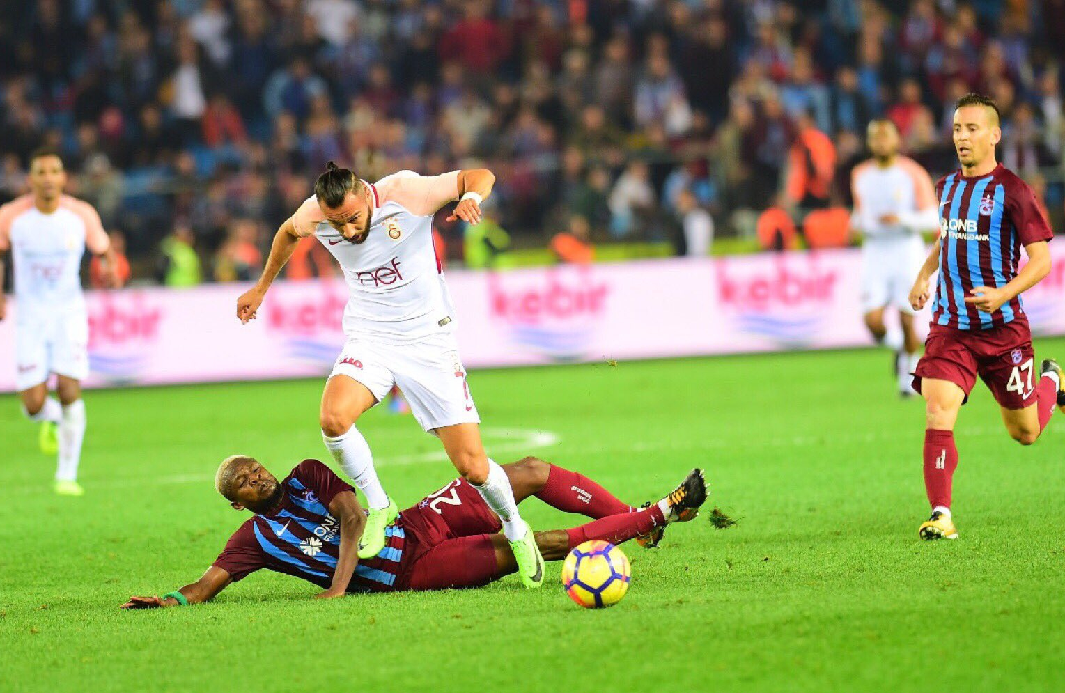 ROUND-UP: Onazi Feared Injured In Trabzonspor Win; Iheanacho, Osimhen, Awaziem Benched