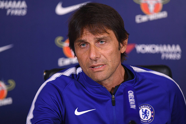 Conte Won't Give Up On EPL Top 4 Finish, Hails Champions Man City