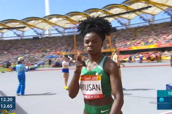 Gold Coast 2018: Team Nigeria Climb To 8th In Medal Table