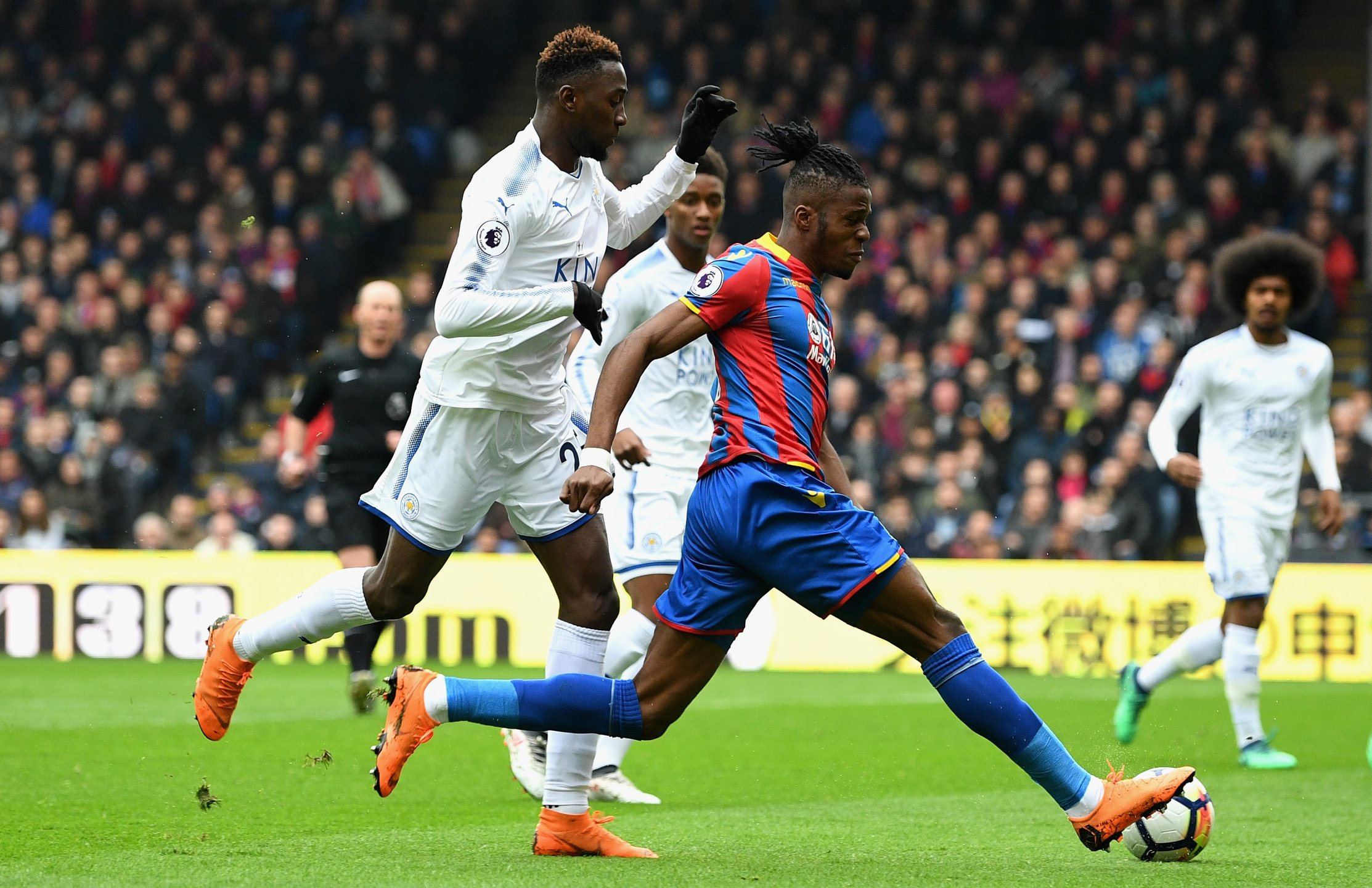 Ndidi Injured, Iheanacho Struggles As Palace Thrash Leicester; Everton, West Brom Win