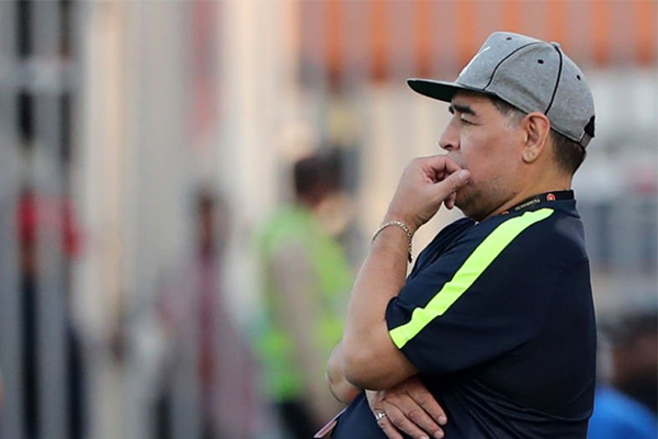 Maradona Leaves UAE Club Al Fujairah After Failed Promotion Bid