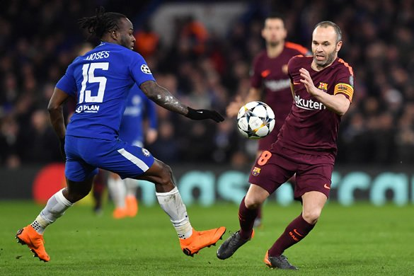 Moses, Others Up For Chelsea Player Of The Year Award