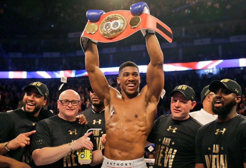 Joshua Hands Parker First Defeat, Wins Fourth World Title