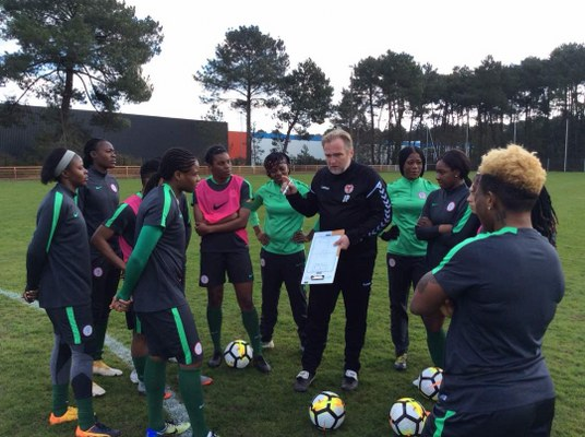Ikhana Rallies Support For Dennerby Despite Super Falcons Big Defeat To France