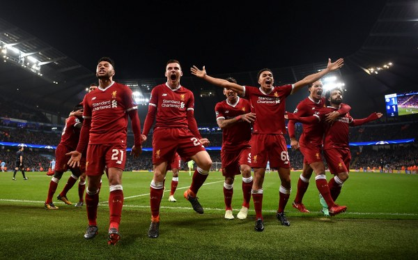 UCL: Liverpool Advance Past Man City Into Semis As Roma Stun Barca