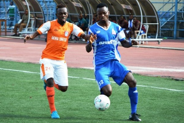 NPFL: MFM Pip Nasarawa United As Rivers United Outscore Akwa United