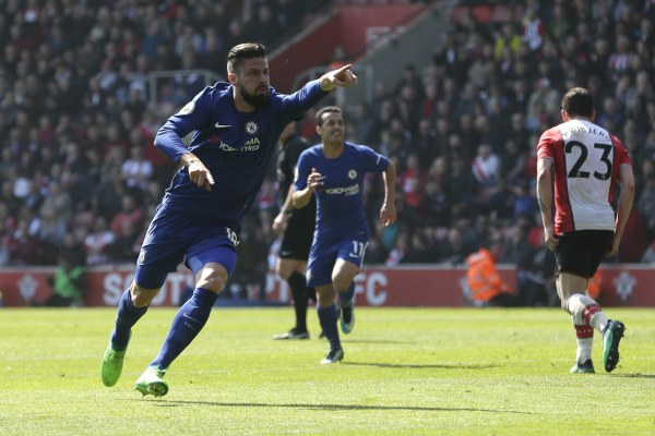 Moses Subbed On As Giroud Rescues Chelsea Against Southampton