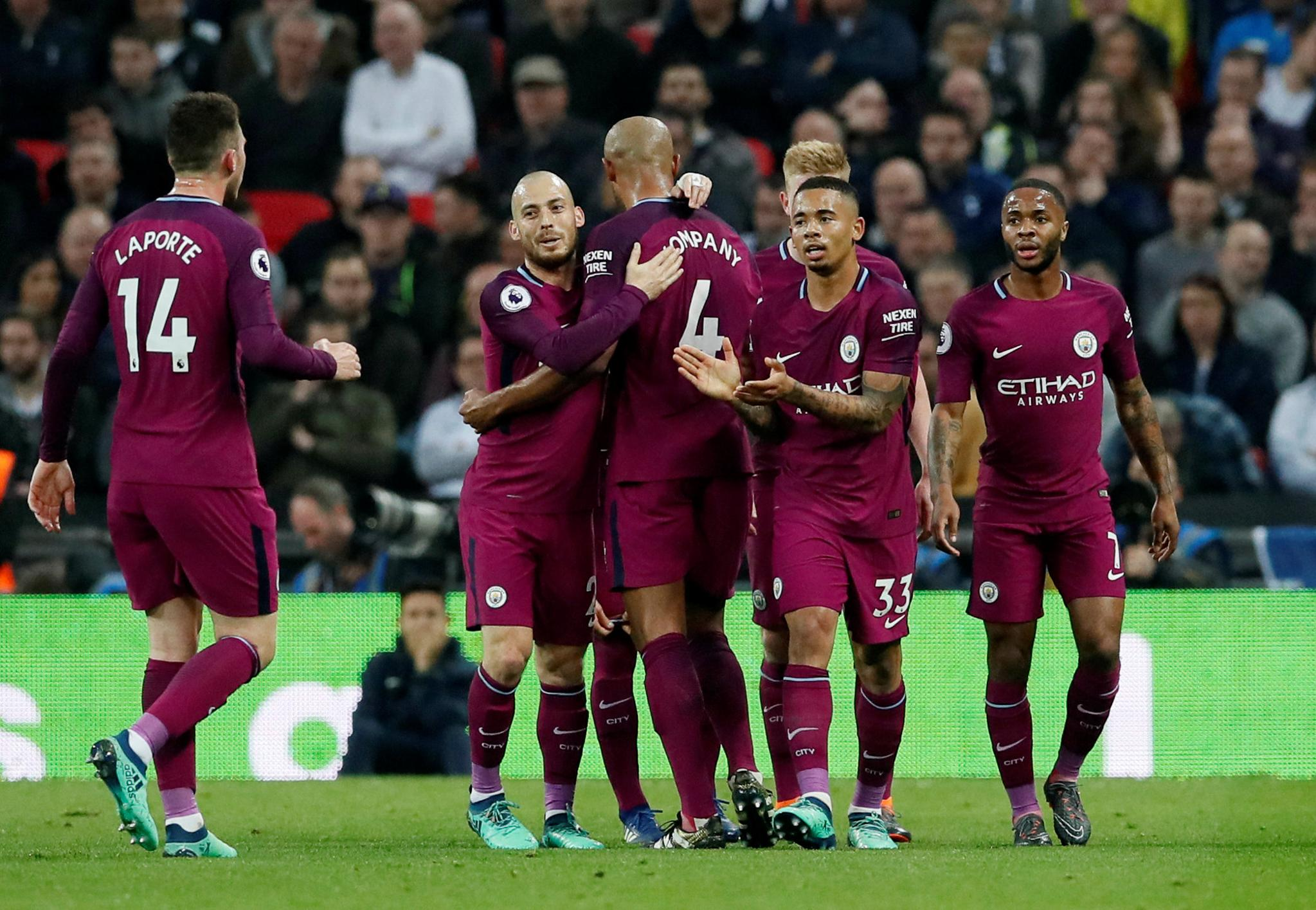 Man City Close In On EPL Title With Win Over Spurs