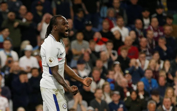 Moses Fires Chelsea Past Burnley; Ndidi, Iheanacho Start In Leicester Draw