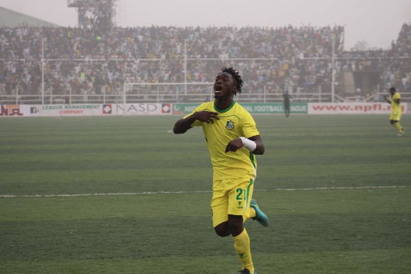 NPFL: Kano Pillars Hotshot Lokosa Eager To  End Goal Drought Vs Heartland