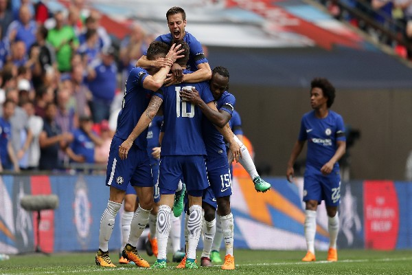 Moses Shines As Giroud, Morata Fire Chelsea Into FA Cup Final