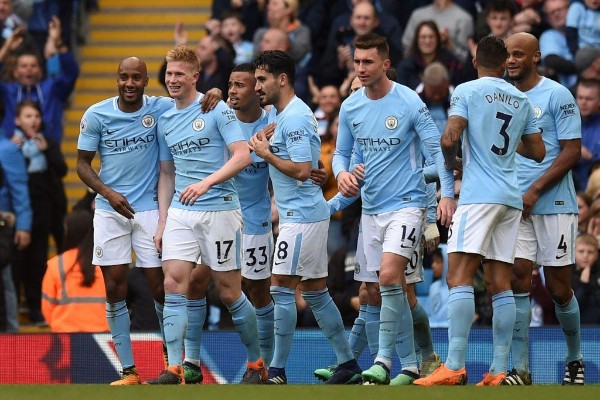 Champions Man City Spank Swansea, Close In On Points Record