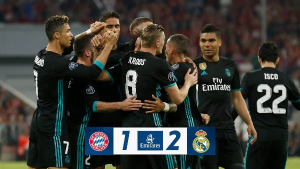 Oliseh Hails UCL Specialists Madrid For Win At Bayern Munich