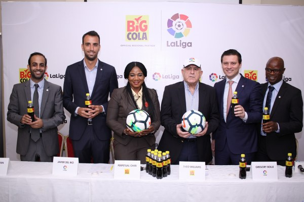 LaLiga Signs Regional Partnership Deal With Big Cola Nigeria