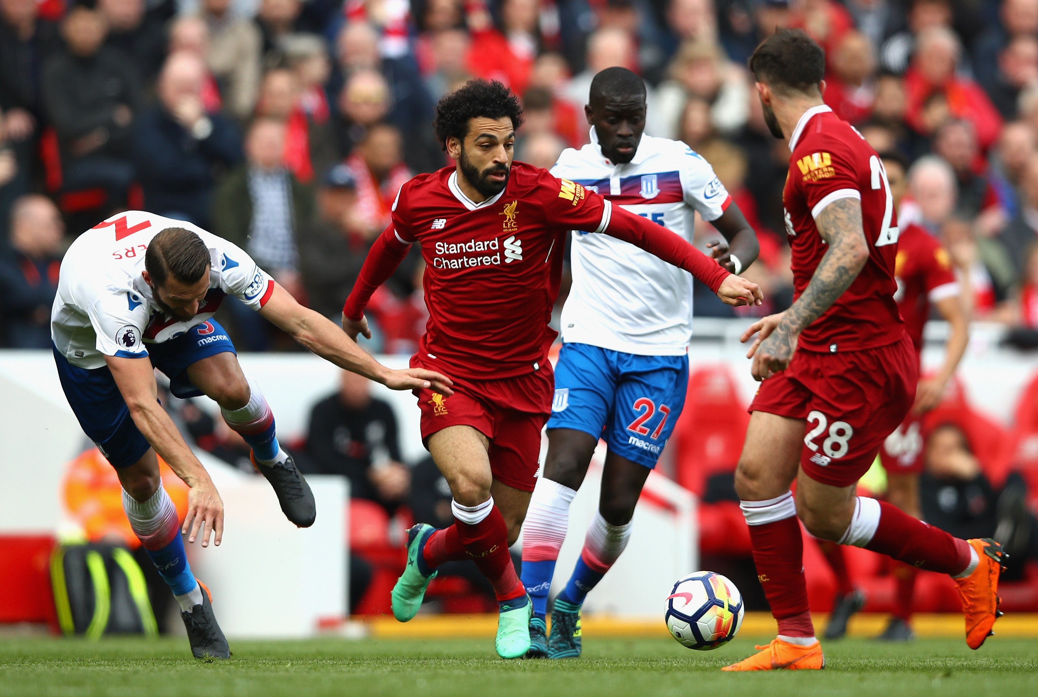 Salah's Record Bid Delayed As Stoke Hold Liverpool