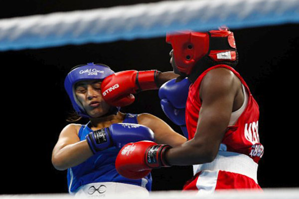 Gold Coast 2018: Agboegbulem Loses In Women's Boxing Semis, Wins Bronze