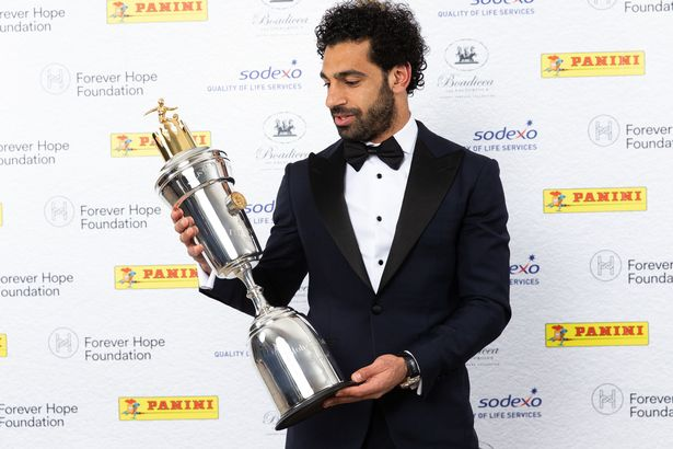 Salah Voted PFA Player Of The Year, Sane Best Young Player
