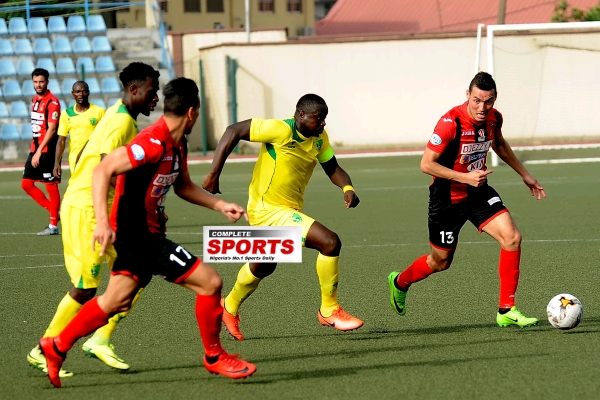 CAFCC: Plateau United Captain Golbe Unhappy With Slim Win Against USM Alger